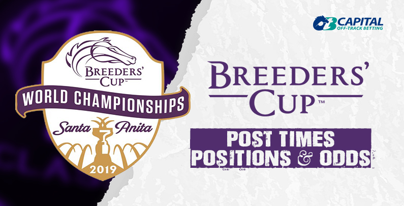 2019 Breeders Cup Post Times Positions And Odds