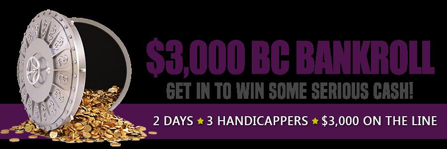3000 Breeders Cup Bankroll Capital Otb