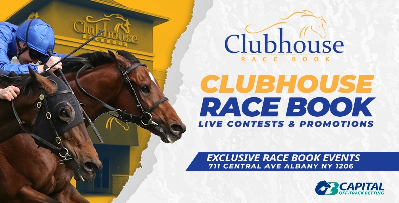 Clubhouse Race Book Events