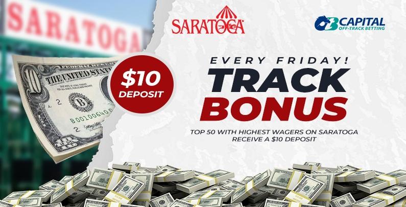Saratoga Track Bonus