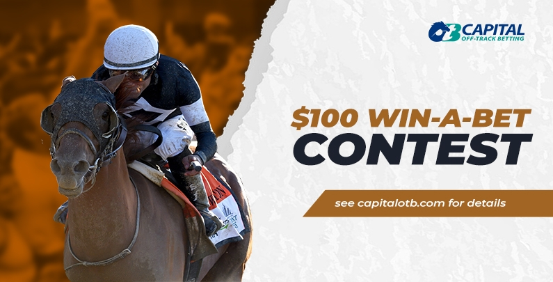 $100 WIN-A-BET Online Contest